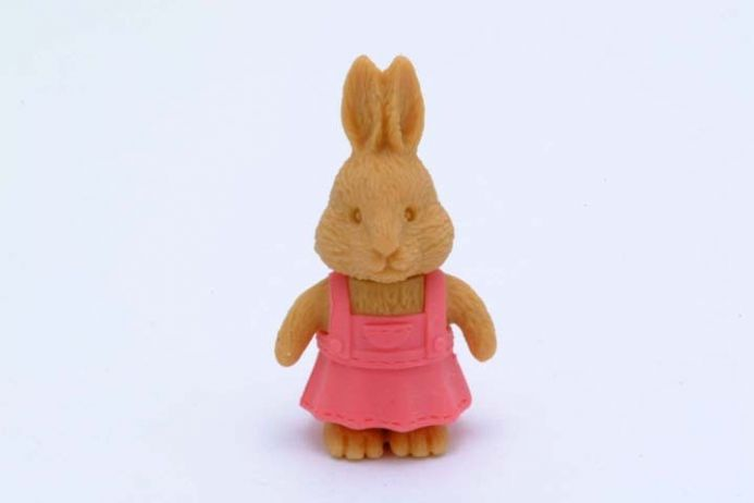 BN IWAKO NOVELTY ERASERS / RUBBERS - GIRL RABBIT